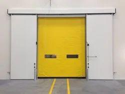 Cold storage high speed door