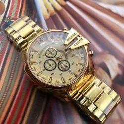 Diesel Golden Mens Watch