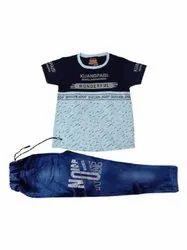 Blue Kids Baba Suit