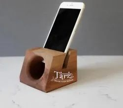 Wooden Mobile Stand- 02