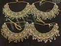 Mehendi Polish Reverse AD Necklace Set