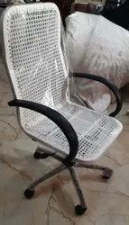 Net Wire Rotatable Chair