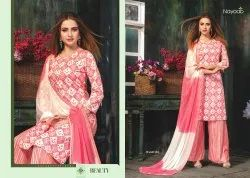 Rayon Printed Designer Suits