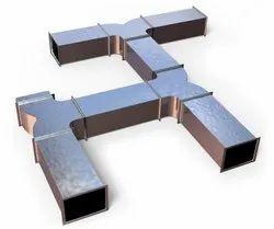 Aluminium HVAC Duct, For Residential Use