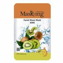 MASKING BEAUTY - KIWI FACIAL SHEET MASK