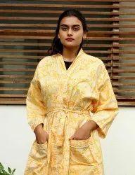Cotton Printed Kimono