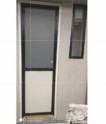 Silver Aluminium Aluminum Office Door, Single
