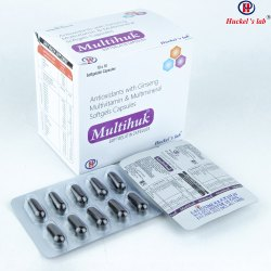 Multivitamin Antioxident Minerals Softgeletin Caps
