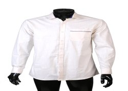 JPND Cotton White Plain Shirt