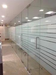 Plain Office Door Glass, Size: 20 Feet