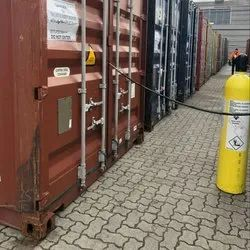 Fumigation Of Export Containers