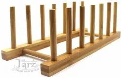 Wooden Plate Rack- 01
