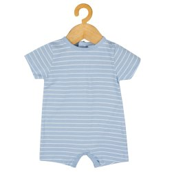 Girl & Boy Kids Baby Printed Blue Dress