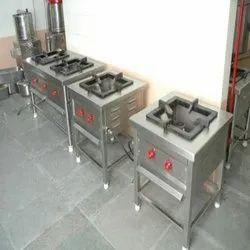 SS Single Burner Cooking Range
