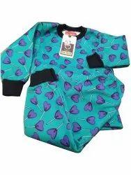 Girl & Boy Kids Winter Printed Baba Suit