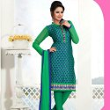 Synthetic Low Range Chiffon Unstitched Dress Material -10