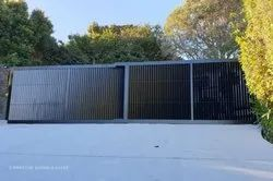 SS and MS Polished Automatic Telescopic Sliding Gates