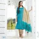 Chinon Silk With Inner Dress Material -6