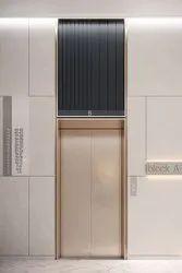 Traction SS Center Opening Autodoor Elevator