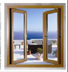 Aluminuum Gray Aluminium Sliding Window And Door