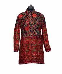 Woolen Jacket Ari Embroidered