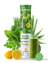 Detox Greens Effervescent Tablets