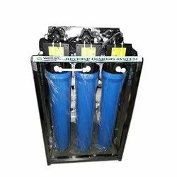 Reverse Osmosis Carbon Steel Water Purification Systems, Water Storage Capacity: 1000 L, Purification Capacity: 100 Lph