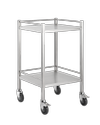Medical Stainless Steel Trolley - 50cm x 50cm