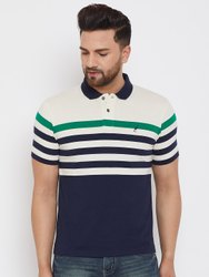 Brand: HARBOR N BAY Multicolor Harbor N Bay Men's Blue Striped T Shirts, Age Group: 15-45