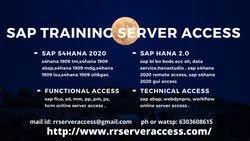 Sap Training Server Access