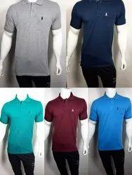 Mens Collar T Shirt With Pocket
