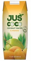 Juscoco Yellow 330ml Tetra Prisma Mango Coconut Juice, Packaging Size: 200ml,330ml