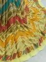 Long Width Embroidered Georgette -Viscose