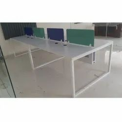 4 Seater Office Workstation