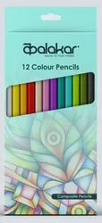 Polymer Color Pencil, For Coloring, Packaging Size: Box