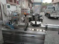 Honey Bottle Filling & Sealing Machine
