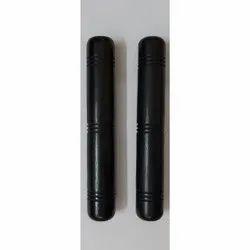 6 Inch Black Round Ebony Wood Stick