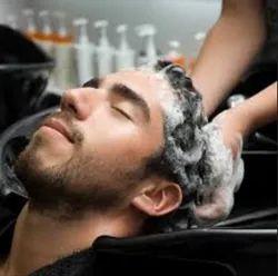 Men Hair Wash Service