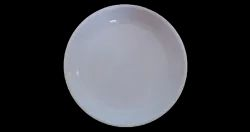 White - Plastic 4 inch Round Dishes, For Home, Packaging Type: Carton Box