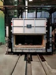Electric Heat Treatment Furnace, Material Loading Capacity (T): 1 Ton