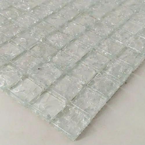 Crackled Glass Mosaic Tile