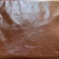 Leatherite Brown Glossy Sofa Fabric
