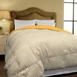 Micro Grey Stripe Bed Comforter