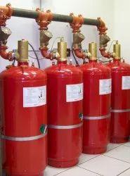 Kidde Mild Steel Clean Agent Fire Suppression System, Capacity: 22 L