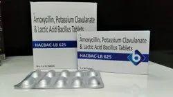Amoxycillin Potassium Clavulanate And Lactic Acid Bacilus Tablets