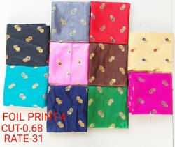 Foil Print-4 Jacquard Blouse Fabric