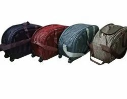 Polyester 4 piece set Wheel Luggage Trolley Bag, For Travel