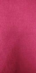 Pink Plain Cotton Fabric