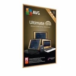 1 Year AVG Ultimate 2019 Software With 1 Device