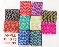 Apple Jacquard Blouse Fabric